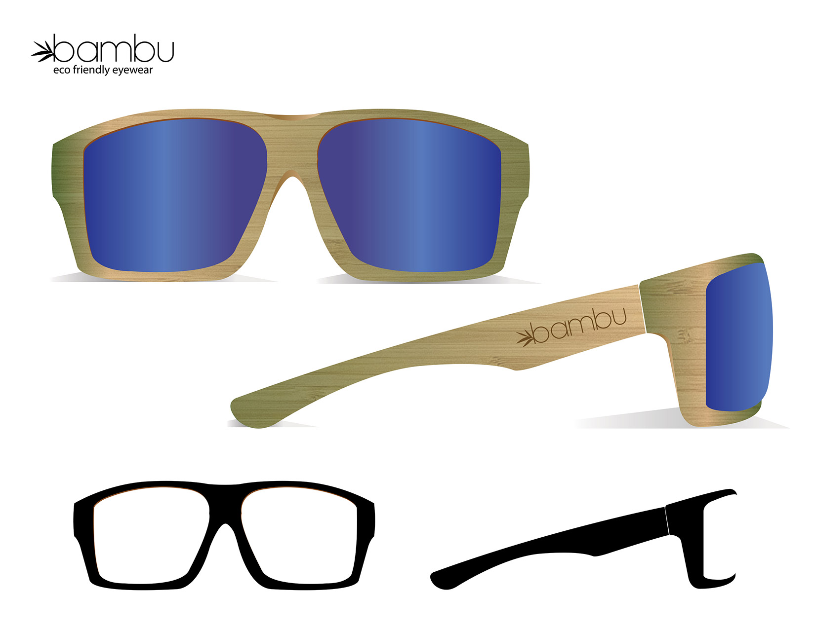 The Youngblood style by Bambu Glasses